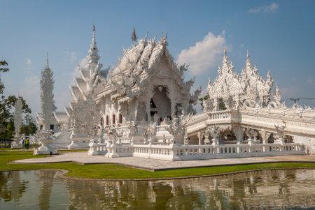 Wat Rong Khun, Chiang Rai White Temple, Thailand
