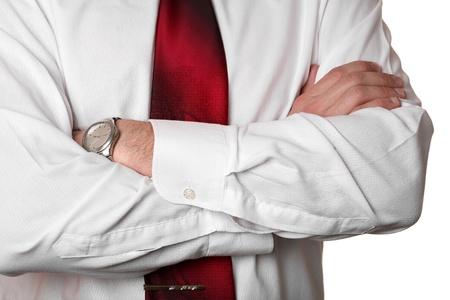 Businessman suit detail  photo