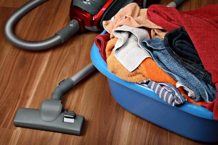 Housework concept photo