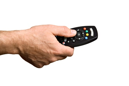 Channel Surfing  Stock Photo