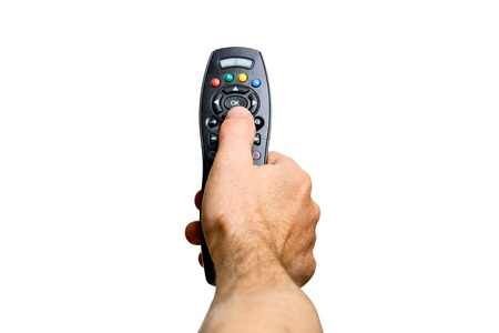 television remote: Channel Surfing  Stock Photo