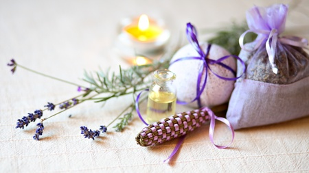 Different lavender products  photo