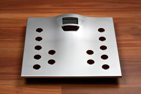 grey scale: Bathroom weight scale