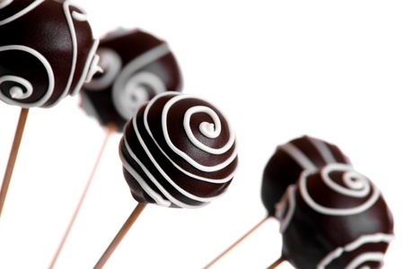 cake ball: Cake Pops  Stock Photo