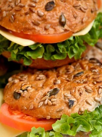 Healthy Vegetarian Burgers photo