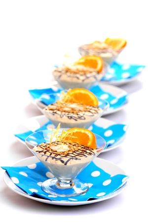 Cream Dessert photo