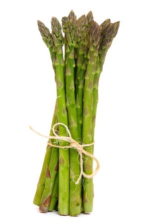 Asparagus, isolated on white