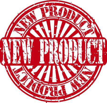 Grunge new product stamp Vector
