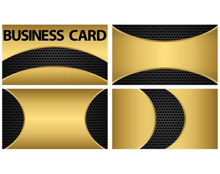 Business card, vector illustration Vector