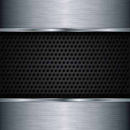 Abstract metallic background Stock Vector - 17112872