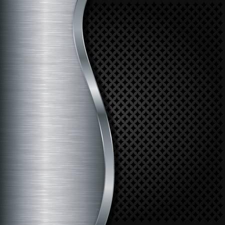 metal sheet: Abstract metallic background
