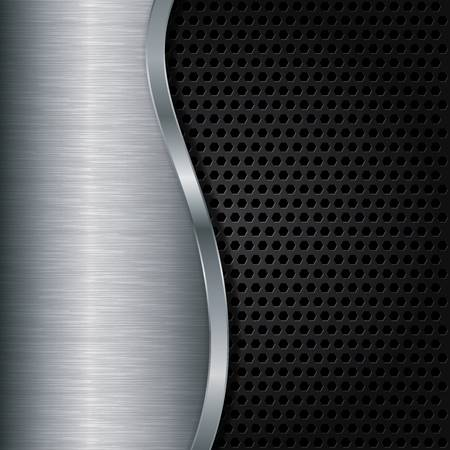 grill pattern: Abstract metallic background