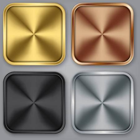 App icons set, vector illustration Illustration