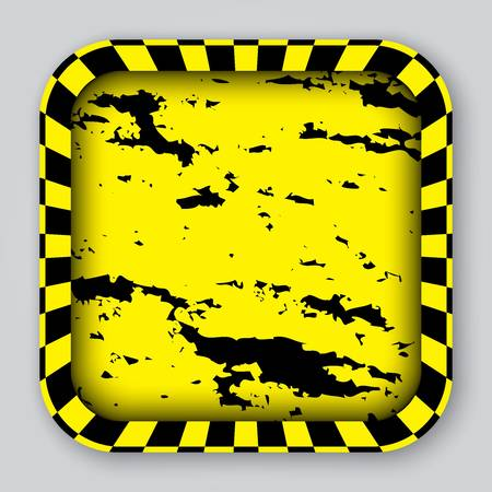 Grunge app icon, vector illustration Stock Vector - 18852280