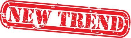 reformation: Grunge new trend rubber stamp,vector illustration
