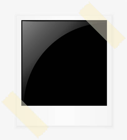 Photo frame, vector illustration Vector