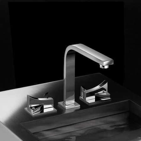 llave de agua: Receptor de ba�o