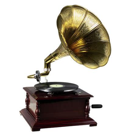 gramophone: Retro gramophone