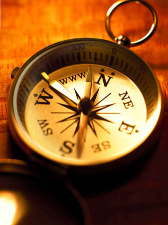 localization: compass Stock Photo