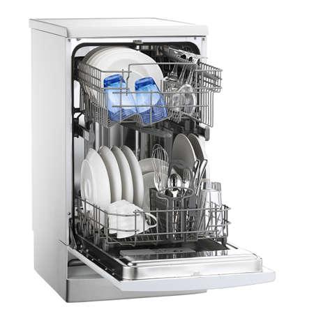 hygien: dishwasher Stock Photo