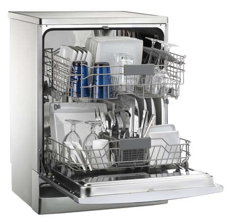 dishwasher: dishwasher Stock Photo