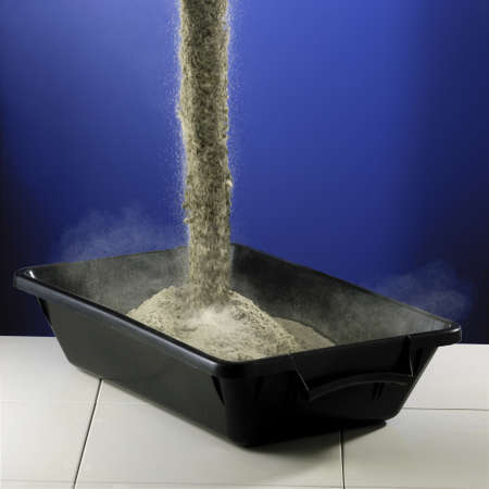 cemento: El cemento en polvo