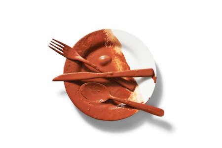 dirty: dirty dish