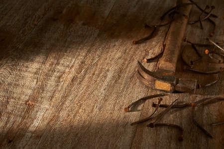 rusty: rusty nails