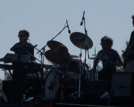 Music band silhouette 1 photo