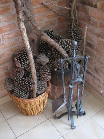 Fireplace tools Stock Photo - 13073985