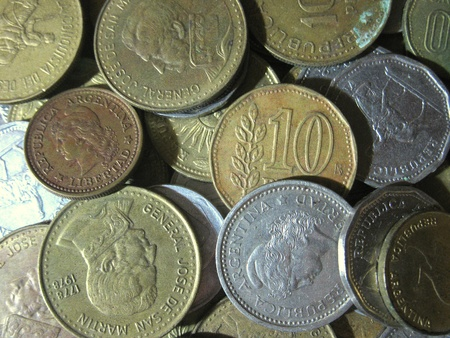 Argentinian old coins 95