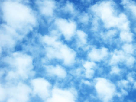 Cotton clouds  gradual-color style