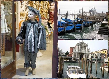 Venetian carnival costume photo