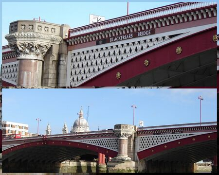 blackfriars bridge: London�s Blackfriars Bridge Editorial