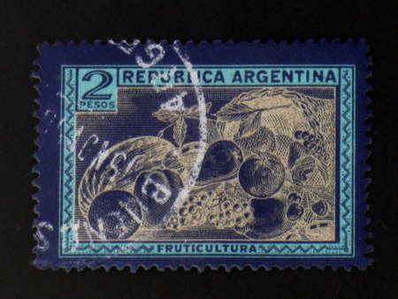 Argentijnse fruit stempel-circa 1950