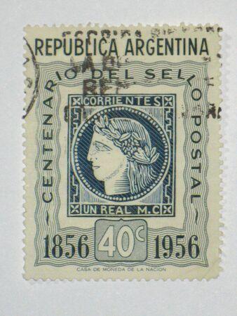 corrientes: Corrientes stamp - circa 1956