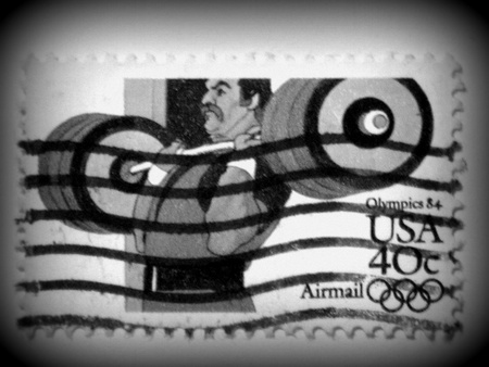 olympic games: US Olympic Games stamp, circa 1984