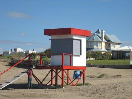 Lifeguard tower  Stock Photo - 13468736