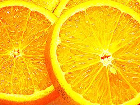 Orange (color +) photo