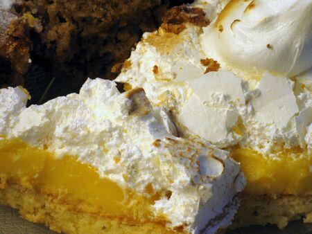 pie de limon: Lemon pie