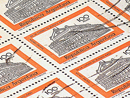 Argentinian stamps (HDR) photo