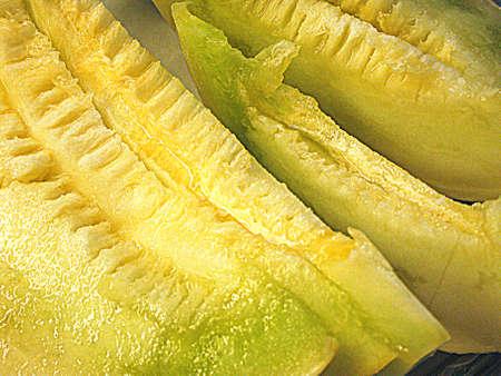 Melon plakjes HDR