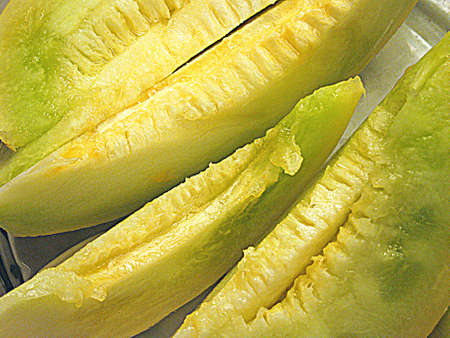 Melon slices  HDR