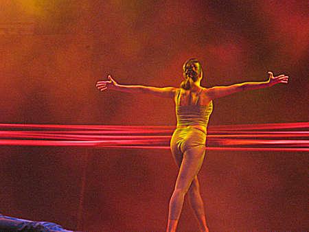 lyrical dance: Ballet dancer (HDR)