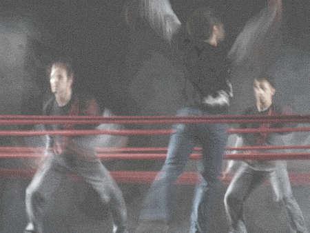 lyrical: Male dancers (silk paper)