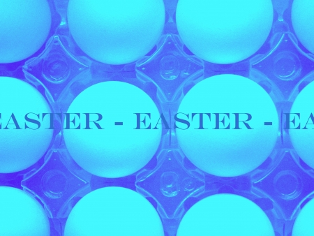 Easter eggs (2 tones) Stockfoto