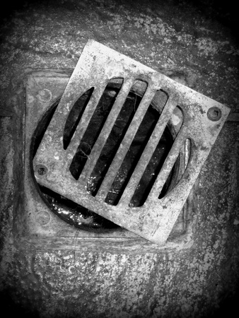 Dirty grating (BW) photo