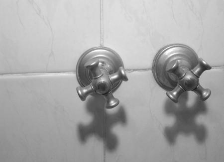 Bath tap (grey) photo