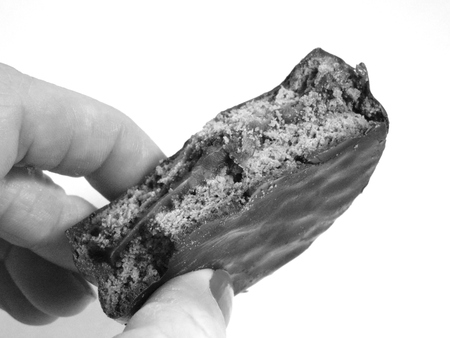 alfajor: Alfajor snack Stock Photo