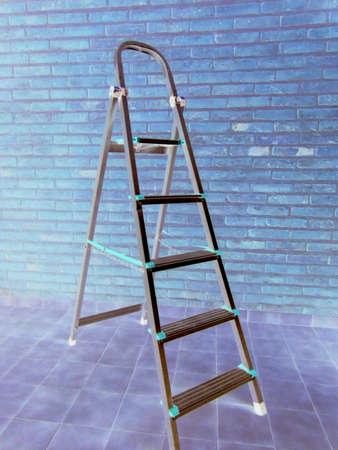 Metallic ladder